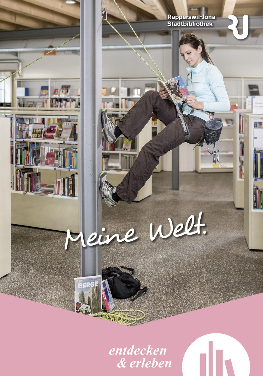 Kampagne Stadbibliothek Rapperswil